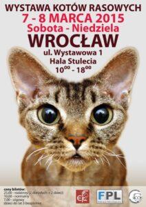 Wystawa kotów rasowych Wrocław marze 2015
